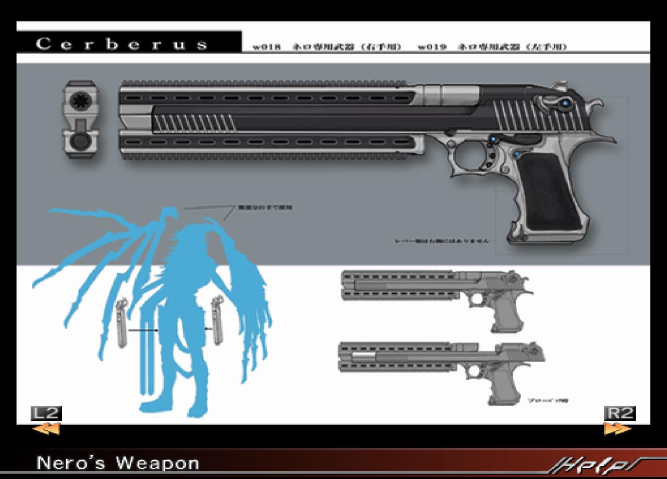 Nero s weapon